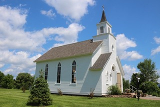 The Old Tabor Church at Heritage Park